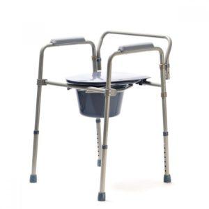 Кресло туалетное складное Vitea Care Drvw01
