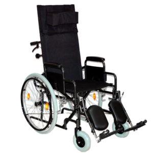 Инвалидная коляска с высокой спинкой и санитарным устройством Мега-Оптим Fs 902 Gc-46