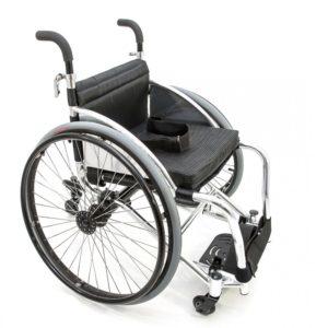 Кресло-коляска для игры в настольный теннис Мега-Оптим Fs 756l