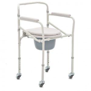 Кресло-коляска для инвалидов с санитарным оснащением Armed Fs693