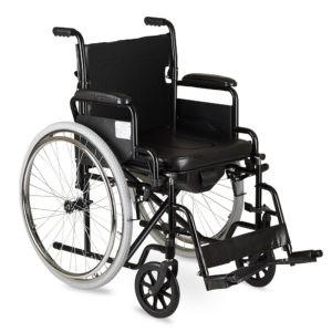 Кресло-коляска для инвалидов с санитарным оснащением Armed Н 011а