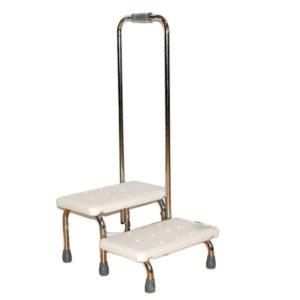 Поручень с 2-мя ступенями для ванной комнаты Мега-Оптим Fs 569