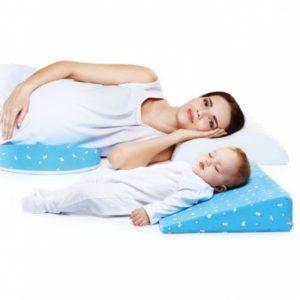 Подушка ортопедическая трансформер для беременных и младенцев Trelax П31, Clin
