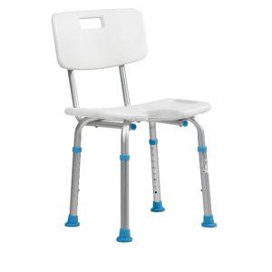 Сиденье для ванны со спинкой и гигиеническим вырезом Ortonica Lux 605