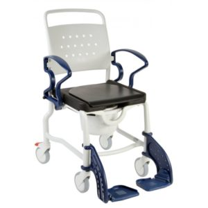 Туалетно-душевой стул с 5-ти дюймовыми колесами Rebotec Берлин 344