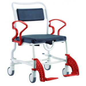 Туалетно-душевой стул с 5-ти дюймовыми колесами Rebotec Чикаго 358