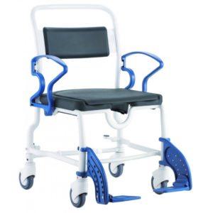 Туалетно-душевой стул с 5-ти дюймовыми колесами Rebotec Денвер 360