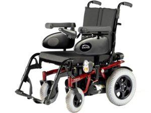 Кресло-коляска инвалидная с электроприводом (электрическая) Tango, ширина сиденья 43,5-50 см, грузоподъемность 140 кг LY-EB103 (103-0340)